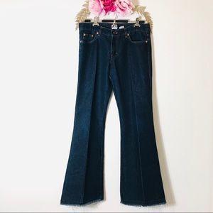 Calvin Klein   medium wash flare Jeans
